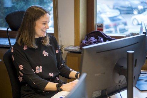 Audhild Kårstad er ny i jobben som avdelingsleder i Kantega i Bergen.