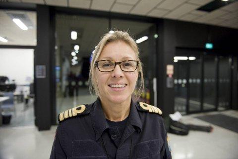 Torill Herland, kommunikasjonssjef for Sjøforsvaret.