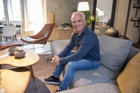 Berle-eier Jens Christian Berle er gleder seg over salgsutviklingen de siste ukene.