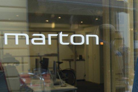 Marton Norway ble etablert i Bergen og holdt lenge til her i Strandgaten.