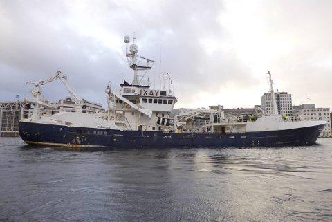 Tråleren «Øygarden» er tatt i arrest i Las Palmas.