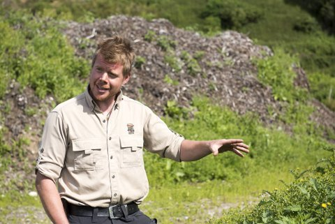 Det var Ruben Oddekalv som fant faren Kurt som hadde gått gjennom isen på Bahusvatnet.