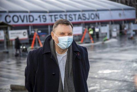 Frank van Betten er smittevernoverlege i Bergen.