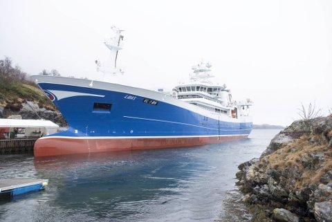 Fiskebåten skal settes i arbeid straks noen dager med finpuss og testing er unnagjort.