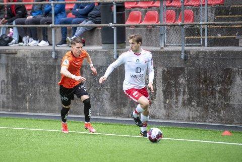 Joakim Hammersland sliter med overbelastningsskader i lyskene, og kommer nok til å gjøre det så lenge han spiller toppfotball.