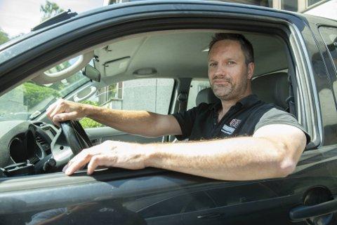 Leif Thomas Bakke Gullaksen sier til BA at han synes det er smartere å ta vare på ting enn å kjøpe nytt, også når det gjelder bil.