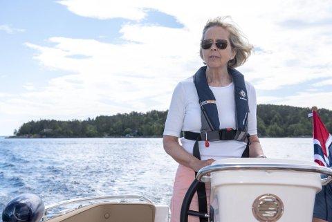 Anne-Grete Strøm-Erichsen ble ikke sittende som styreleder i Bergen Havn AS lenge.