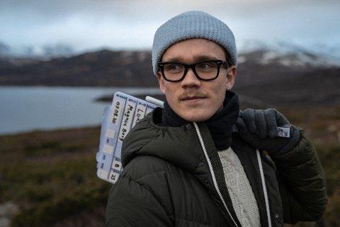 Ambisiøs: Teodor Sven Bø fra Randaberg studerer film, og drømmer om å selv produsere en spillefilm.