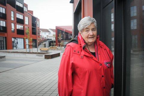 Spent: Anna Kristin Klæbo Jakobsen ser fram til at NMS Gjenbruk kan flytte inn i nye, romsligere lokaler i Sentrumsparken.