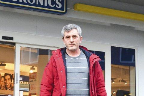 ALT LOKALT: Zekë Muriqi lover at de kommer til å handle alt de kan i Modum.