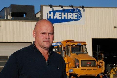TRER AV: Albert Kr. Hæhre gir seg som sjef for BetonmastHæhre Anlegg.