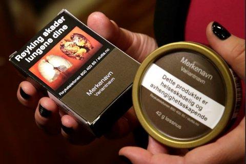 TOBAKK ØKER MEST: Totalt i Norge har tobakksomsetningen økt 53 prosent i uke 11 til 32, og salget øker i samtlige fylker.