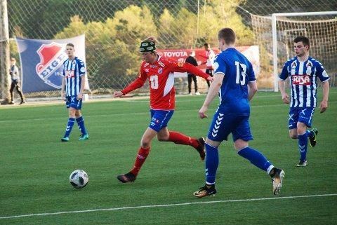 Matias L. Løyning scoret to og ble kåret til dagens Eiger-spiller.