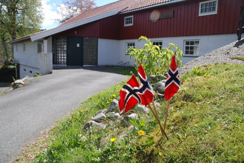 PYNTET OG KLART: Lund Bygdemuseum og kulturbank åpner dørene for sesongen på 17. mai. Grupper på opp til fem ønskes velkommen innom.