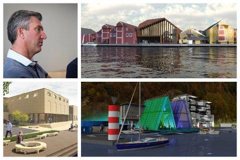 PROSESS PÅGÅR: Eigersund-ordfører Odd Stangeland (Ap) føler seg trygg på at administrasjonen i kommunen er i god dialog med de private aktører som har store planer i sentrum.