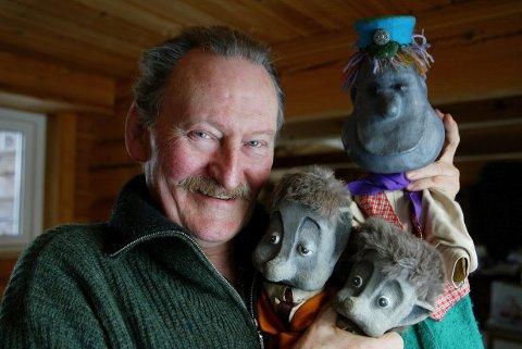 Arne Mykle, opphavsmannen til Pompel og Pilt. Her fra 2003.