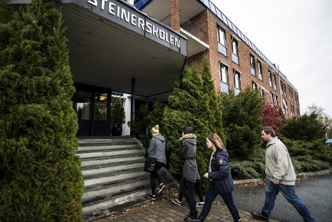 BLIR ASYLMOTTAK: Onsdag er det planlagt at de første flyktningene kommer til Røyken, til det som tidligere har vært hotell, og som til nylig var internatskole for Steinerskolen.