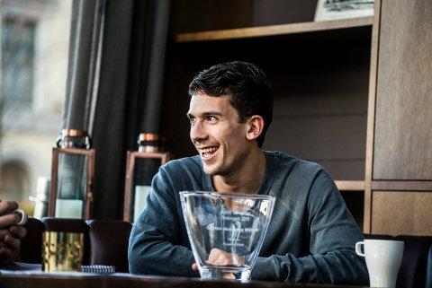 TIL GENT: I november ble Gustav Mendonca Wikheim kåret til Årets spiller på DT-børsen. Nå er han klar for belgiske Gent, og har dermed mulighet til å spille åttedelsfinale i Champions League.
