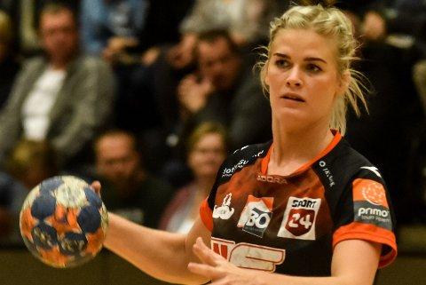 TRIVES I DANMARK: Veronica E. Kristiansen har signert en ny avtale med danske FC Midtjylland.