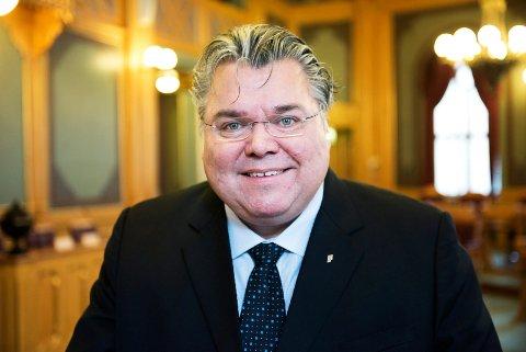 SKEPTISK: Frp-representant Morten Wold frykter også at Drammen, Kongsberg og Ringerike kan ødelegge for hverandre, slik at Politihøgskolen havner et helt annet sted.