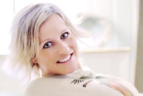 TIL OL: Vibeke Skofterud blir å se på TV-skjermen under OL i februar.