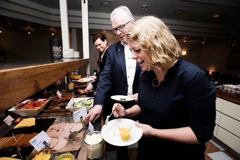 Scadic Ambassadør Drammen. Starter prosjekt for å kaste mindre mat.