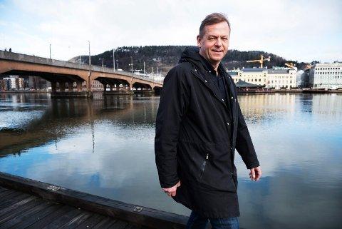 BREDT PROGRAM: Leder for Byen Vår Drammen, Tom Søgård, lover et Elvefest-program med noe for enhver.