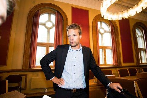 VARAORDFØRER: Jon Helgheim er leder av Drammen Frp og kjemper om en av Stortingsplassene ved høstens valg.