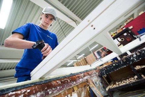 Fjerdingstad Trevare. Produsent av vinduer og dører. Hokksund. Øvre Eiker. Alexander Meinhardt Børresen