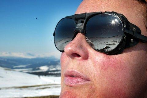 VAKKERT: Nå er det på tide å ta fram solbrillene.