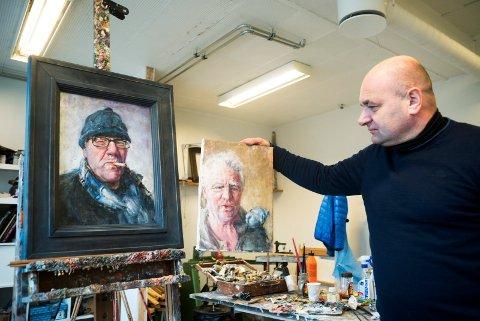 UTSTILLING: Den klassiske kunstmaleren Darek Adamski stiller ut på Fossesholm i sommer.