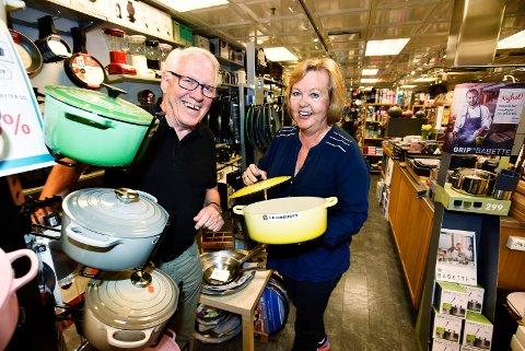 PÅ MAGASINET I TOLV ÅR: Ekteparet Erik og Liv-Elin Mietle ga seg etter hele tolv år på Magasinet i Drammen. Sammen skulle de nyte livet med familie og venner. Dessverre dør Erik bare tre år senere, 75 år gammel.