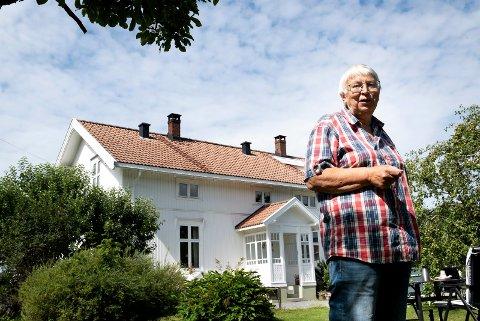 KALD VINTER: Da Synnøve Pedersen Vestnes og Jarle Vestnes kom til Vestfossen på 80-tallet opplevde de 36 kuldegrader en vinter.