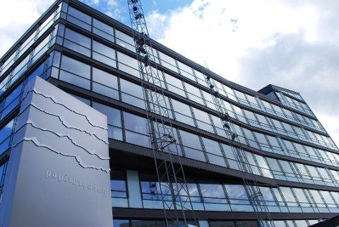 MSD: I dag holder MSD til her på Papirbredden 2, men har nå intensjon om å flytte til Oslo.