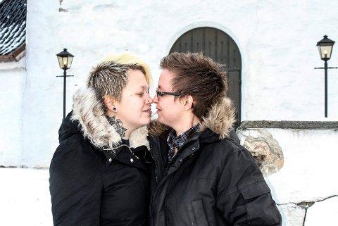 marita Fingarson og Pia Olsen skal gifte seg i Haug Kirke