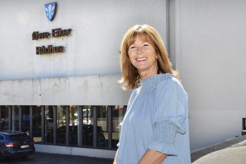 SJEKKER OPP: Ordfører Ann Sire Fjerdingstad trenger nye venner når Stor Drammen trolig vender henne ryggen.