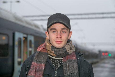 JUBILANT: Kasper Pettersen Holst fra Loesmoen fyller 20 år 7. januar.