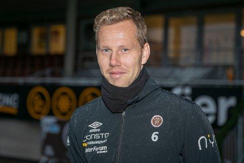 KLAR FOR 2021: Joackim Olsen Solberg har signert ettårig kontrakt med Mjøndalen for 2021.