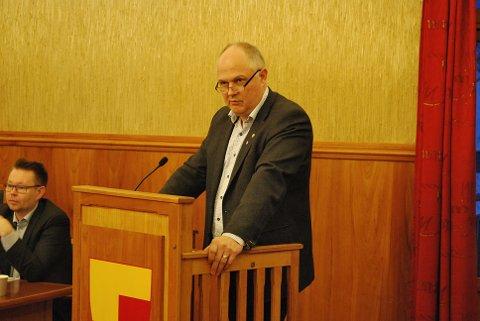Gruppeleder for Arbeiderpartiet og varaordfører i Nordkapp kommune, Kjell-Valter Sivertsen.