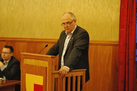 Kjell Valter Sivertsen. Arkivfoto