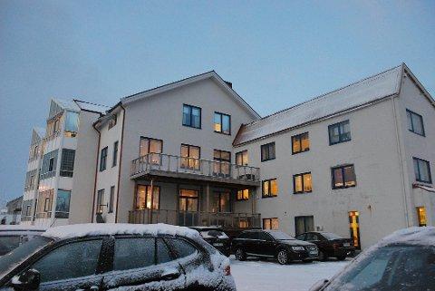 Nordkapp helsesenter hvor Nordkapp Legesenter holder til.
