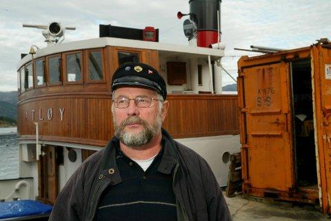 """Leif Kvalvik er ein av dei som har bidrege mykje på """"Atløy""""."""