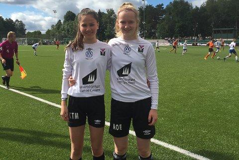 Kristin Torsvik Myrvollen og Andrine Olsen Endestad klare for finale