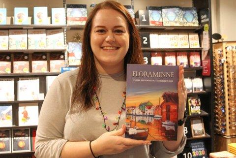 Malin Standal Fisher på Norli melder om godt lokalsal - både bøker, kalenderar og Floraminne fyk over disken no før jul.
