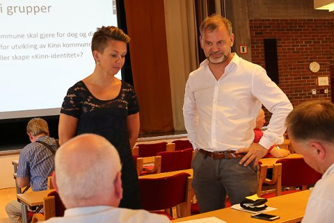 VIL REVURDERE: Kristin Maurstad og Ola Teigen i Kinn Ap.