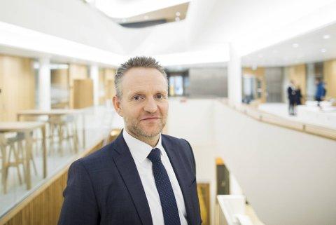 Konsernsjef Jan Erik Kjerpeseth i Sparebanken Vest ser tilbake på 2020 som et krevende år, noe han forventer 2021 blir også.