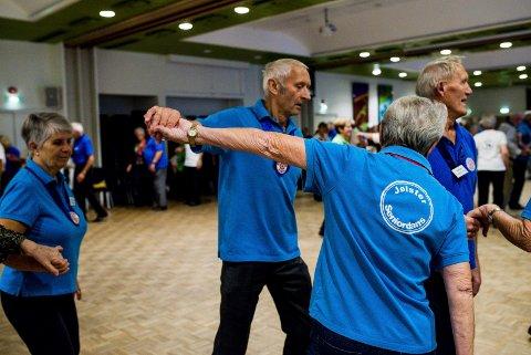 MIDLAR: Eldredansen er en av tre som får midlar frå Den kulturelle skulesekken