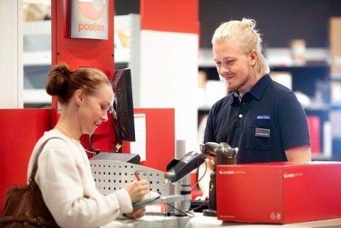 SLUTT: Du får ikkje lenger banktenester gjennom post i butikk.