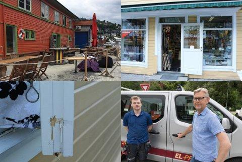 FLEIRE INNBROT: Kafeen Dampskipkaien i Sogndal, Trapp Ned i Førde, Sunnfjord Elektro i Førde og eit hus i Askvoll hadde alle innbrot med få dagar mellomrom.