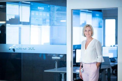 ÅTVARAR: Hanne Tangen Nilsen, sikkerheitsdirektør i Telenor Norge.